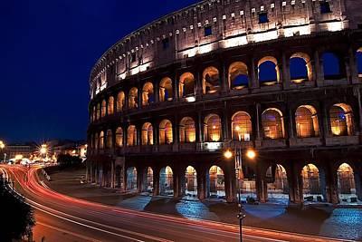 Jeff Lewis Photograph - Rome Coliseum by Jeff Lewis