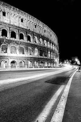 Monument Photograph - Rome Colloseo by Nina Papiorek