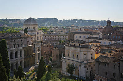 Photograph - Rome From Above by Pablo Lopez