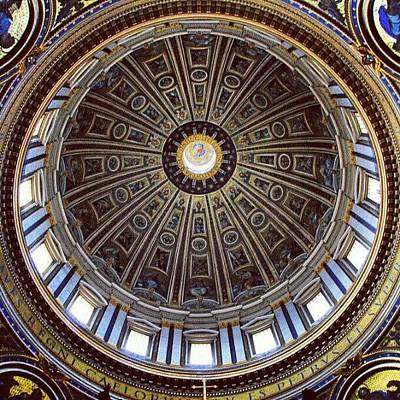Icon Photograph - #rome #icon #vatican #church #dome by Jason Emmett