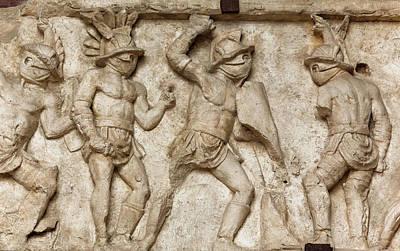Rome, Italy. Bas Relief Art Print