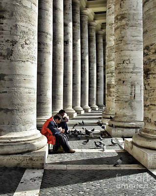 Photograph - Rome Italy by Daliana Pacuraru