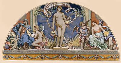 Rome Representative Of The Arts Art Print