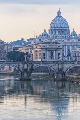 Rome Saint Peters Basilica 02 Art Print