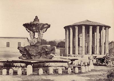 Rome Vestal Temple Art Print by Granger