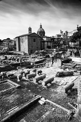 Rome Wasn't Built In A Day Art Print by Yuri Santin