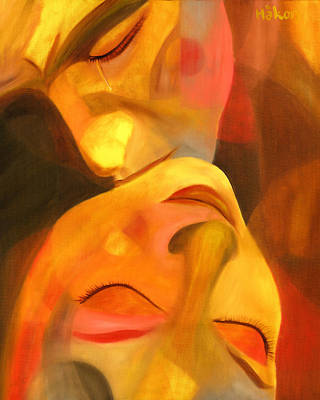 Expressionistic Painting - Romeo And Juliet by Hakon Soreide