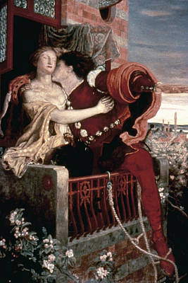 Embrace Painting - Romeo And Juliet 'romeo And Juliet by Granger