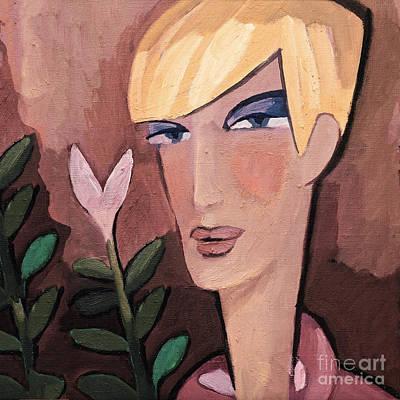 Painting - Romeo by Lutz Baar