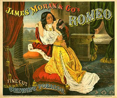 Romero Fine Cut Chewing Tobacco Print by Studio Artist