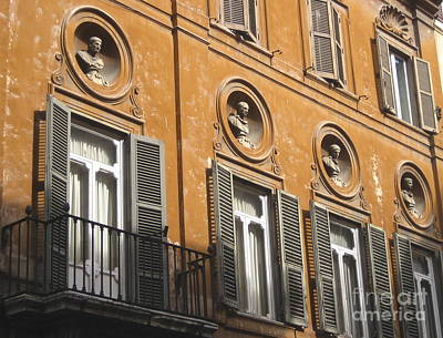 Photograph - Rome's Afternoon Light by Suzanne Oesterling