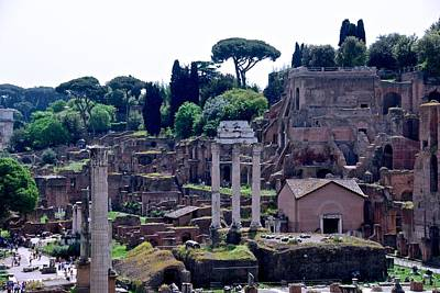 Photograph - Rome's Forum by Eric Tressler