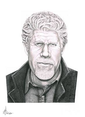 Ron Pearlman Original by Murphy Elliott