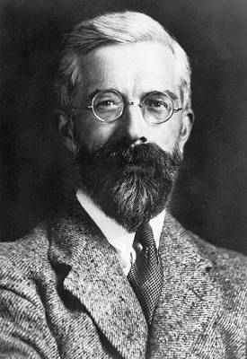 Heredity Photograph - Ronald Fisher by American Philosophical Society