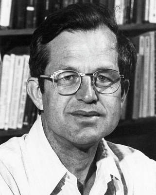 1981 Photograph - Ronald Fuchs by Emilio Segre Visual Archives/american Institute Of Physics