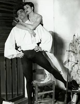 Renee Photograph - Ronald Petit And Renee Jeanmarie by Horst P. Horst