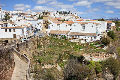 Medieval Village Photograph - Ronda Old City In Spain by Artur Bogacki