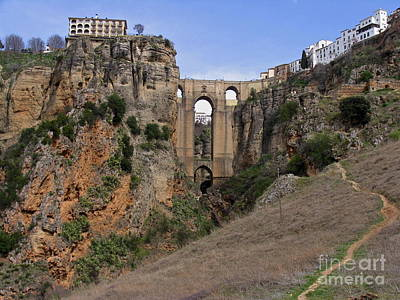 Photograph - Ronda Spain by Suzanne Oesterling
