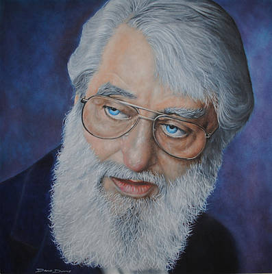 Bono Painting - Ronnie Drew The Dubliners by David Dunne