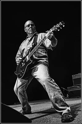 Black And White Photograph - Ronnie Montrose - Icon by William Towner