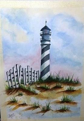 Ron's Lighthouse Art Print