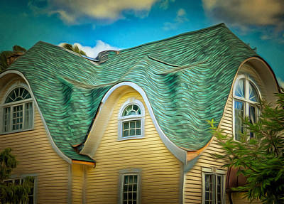 Photograph - Roof - For Some Reason by MJ Olsen