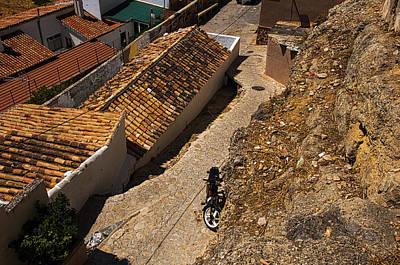 Photograph - Roof Tops. Ronda. Spain by Jenny Rainbow