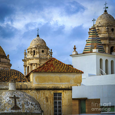 Photograph - Roofs Cadiz Spain by Pablo Avanzini