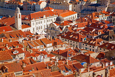 Photograph - Roofs Of Dubrovnik by Alexey Stiop