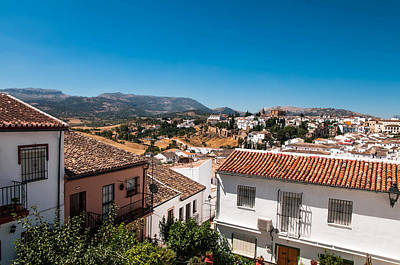 Photograph - Roofs Of Ronda. Spain by Jenny Rainbow