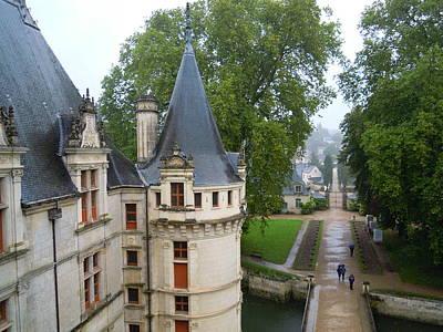 Photograph - Rooftop Castle View by Ellen Meakin