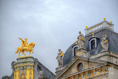 Photograph - Rooftop In The Grand Place by Deborah Smolinske