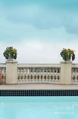 Photograph - Rooftop Pool by Jill Battaglia