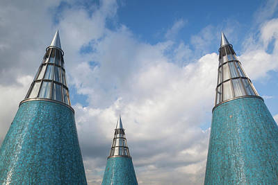 Rooftop Towers At Museum Of Technology Art Print