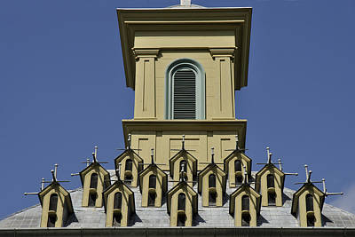 Dundurn Castle Photograph - Rooftop by Trevor Varley