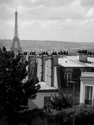 Photograph - Rooftop View - Paris by Lisa Parrish