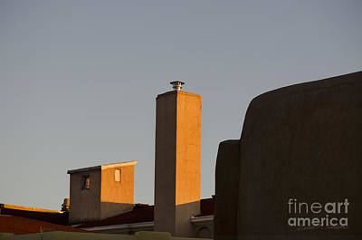 Rooftops At Last Light Art Print by Dave Gordon