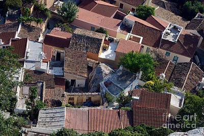 Plaka Photograph - Rooftops by George Atsametakis