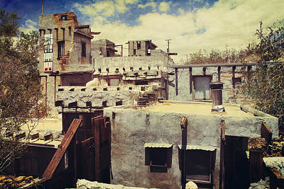 Pueblo Photograph - Rooftops by Laurie Search