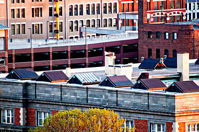 Photograph - Rooftops by Mirian Hubbard