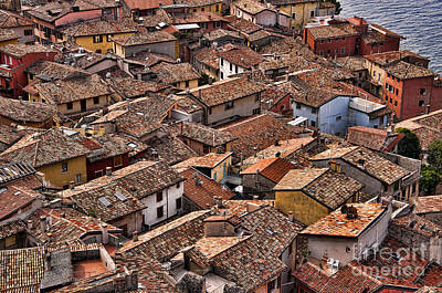 Photograph - Rooftops Of An Ancient Town by Brenda Kean