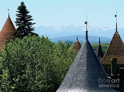 Cathar Country Photograph - Rooftops Of Carcassonne by France  Art
