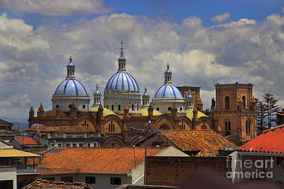 Rooftops Of Cuenca II Art Print