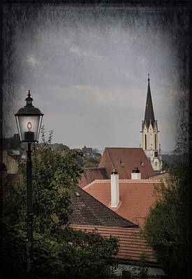 Photograph - Rooftops Of Melk by Yelena Rozov