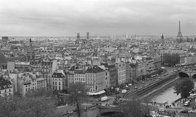 Photograph - Rooftops Of Paris by Heidi Hermes