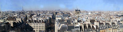 France Photograph - Rooftops Of Paris by Thomas Marchessault