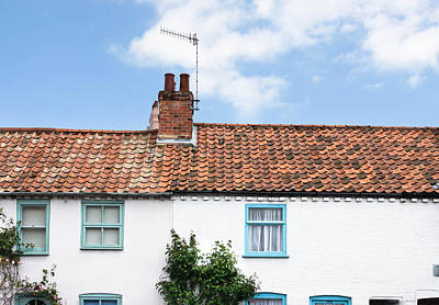 Neighbour Photograph - Rooftops by Tom Gowanlock