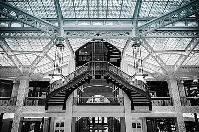 Photograph - Rookery Building Atrium by Anthony Doudt