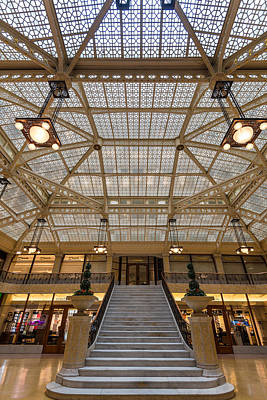 Wright Photograph - Rookery Building Lobby by Steve Gadomski