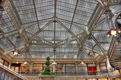 Photograph - Rookery Ceiling In H D R by David Bearden